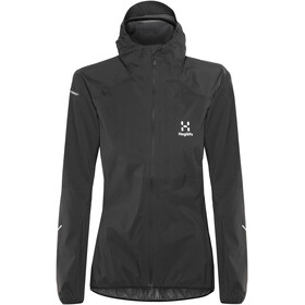 Haglöfs W's L.I.M Proof Jacket True Black